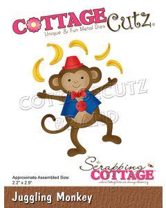 Rezalna šablona CottageCutz Juggling Monkey