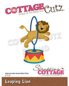 Rezalna šablona CottageCutz Leaping Lion