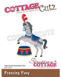 Rezalna šablona CottageCutz Prancing Pony