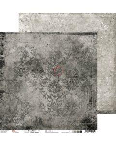 Dvostranski papir - GRAY MOOD 02 - 30,5 x 30,5 cm - 250g