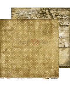 Dvostranski papir - BROWN MOOD 06 - 30,5 x 30,5 cm - 250g