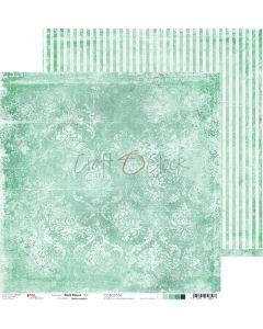 Dvostranski papir - MINT MOOD 06 - 30,5 x 30,5 cm - 250g
