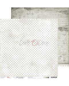 Dvostranski papir - LIGHT GRAY MOOD 02 - 30,5 x 30,5 cm - 250g