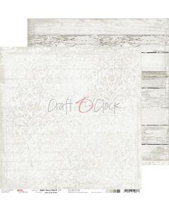 Dvostranski papir - LIGHT GRAY MOOD 03 - 30,5 x 30,5 cm - 250g