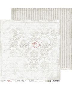Dvostranski papir - LIGHT GRAY MOOD 04 - 30,5 x 30,5 cm - 250g