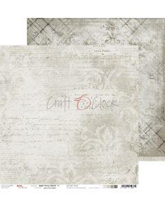 Dvostranski papir - LIGHT GRAY MOOD 05 - 30,5 x 30,5 cm - 250g