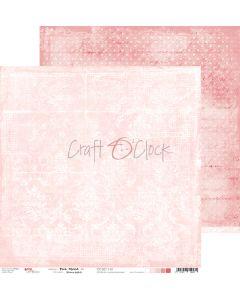 Dvostranski papir - PINK MOOD 01 - 30,5 x 30,5 cm - 250g