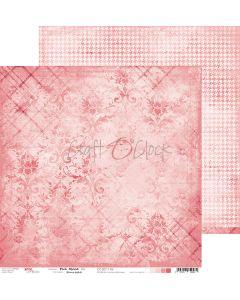 Dvostranski papir - PINK MOOD 06 - 30,5 x 30,5 cm - 250g