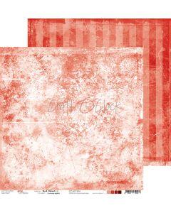Dvostranski papir - RED MOOD 01 - 30,5 x 30,5 cm - 250g