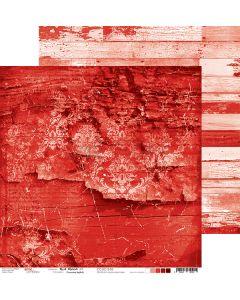 Dvostranski papir - RED MOOD 03 - 30,5 x 30,5 cm - 250g