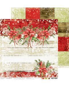 Dvostranski papir - CHRISTMAS TIME 01 - 30,5 x 30,5 cm - 250g