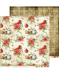Dvostranski papir - CHRISTMAS TIME 03 - 30,5 x 30,5 cm - 250g
