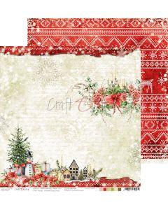 Dvostranski papir - CHRISTMAS TIME 04 - 30,5 x 30,5 cm - 250g