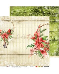 Dvostranski papir - CHRISTMAS TIME 06 - 30,5 x 30,5 cm - 250g