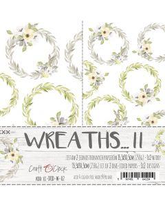 Set papirjev za rezanje - WREATHS II PREMIUM