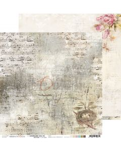 Dvostranski papir - HUMMINGBIRD SONG 3 - 30,5 x 30,5 cm - 250g
