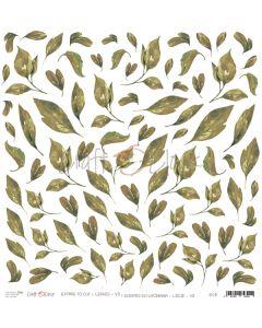 Papir za rezanje - LEAVES VII - 30,5 x 30,5 cm - 250g