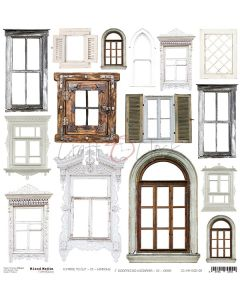 Papir za rezanje - MM 09 WINDOWS - 30,5 x 30,5 cm - 250g