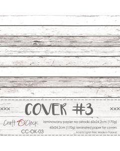 Papir za platnice - COVER 3 - laminiran - 60 x 24,2 cm - 170g