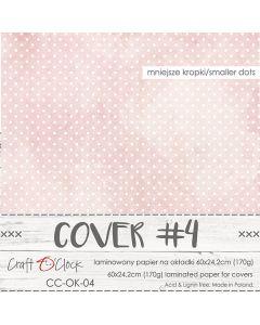 Papir za platnice - COVER 4 - laminiran - 60 x 24,2 cm - 170g