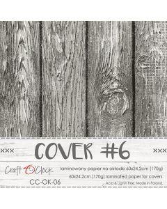 Papir za platnice - COVER 6 - laminiran - 60 x 24,2 cm - 170g