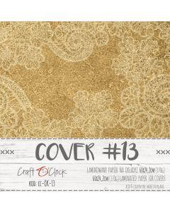 Papir za platnice - COVER 13 - laminiran - 60 x 24,2 cm - 170g