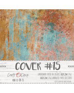 Papir za platnice - COVER 15 - laminiran - 60 x 24,2 cm - 170g