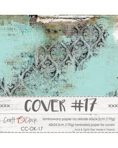 Papir za platnice - COVER 17 - laminiran - 60 x 24,2 cm - 170g