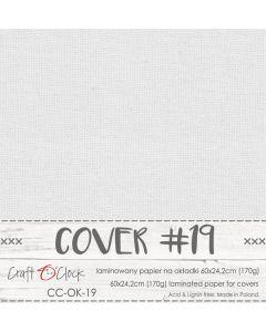Papir za platnice - COVER 19 - laminiran - 60 x 24,2 cm - 170g