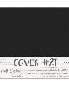 Papir za platnice - COVER 21 - laminiran - 60 x 24,2 cm - 170g