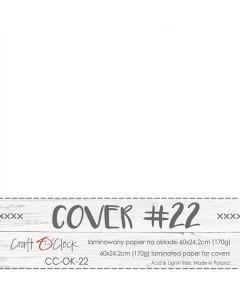 Papir za platnice - COVER 22 - laminiran - 60 x 24,2 cm - 170g