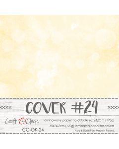 Papir za platnice - COVER 24 - laminiran - 60 x 24,2 cm - 170g