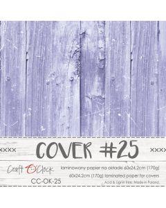 Papir za platnice - COVER 25 - laminiran - 60 x 24,2 cm - 170g