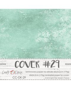 Papir za platnice - COVER 29 - laminiran - 60 x 24,2 cm - 170g