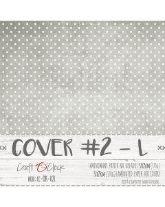 Papir za platnice - COVER 02 L - laminiran - 57 x 25 cm - 170g