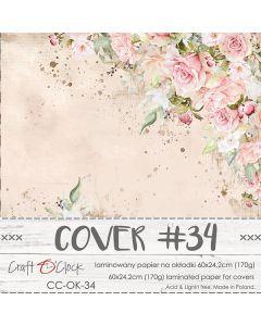 Papir za platnice - COVER 34 - laminiran - 60 x 24,2 cm - 170g