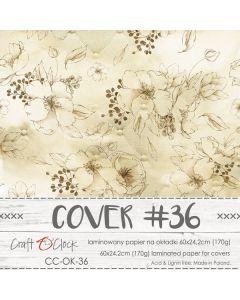Papir za platnice - COVER 36 - laminiran - 60 x 24,2 cm - 170g