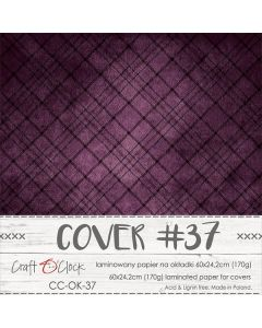 Papir za platnice - COVER 37 - laminiran - 60 x 24,2 cm - 170g