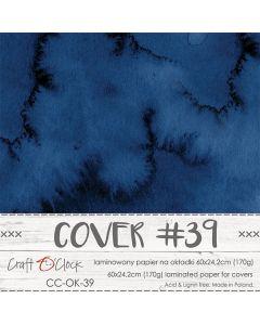Papir za platnice - COVER 39 - laminiran - 60 x 24,2 cm - 170g