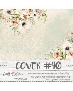 Papir za platnice - COVER 40 - laminiran - 60 x 24,2 cm - 170g