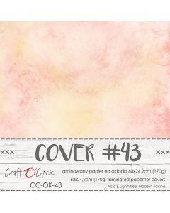 Papir za platnice - COVER 43 - laminiran - 60 x 24,2 cm - 170g