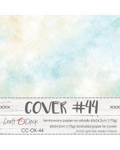 Papir za platnice - COVER 44 - laminiran - 60 x 24,2 cm - 170g