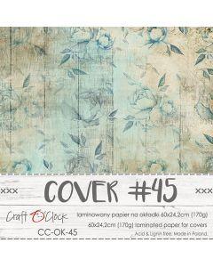 Papir za platnice - COVER 45 - laminiran - 60 x 24,2 cm - 170g