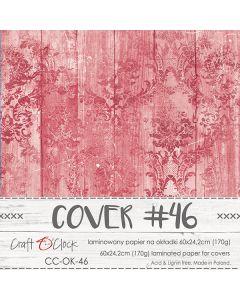 Papir za platnice - COVER 46 - laminiran - 60 x 24,2 cm - 170g