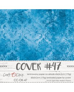 Papir za platnice - COVER 47 - laminiran - 60 x 24,2 cm - 170g