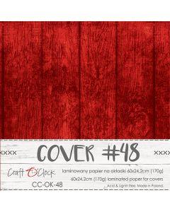 Papir za platnice - COVER 48 - laminiran - 60 x 24,2 cm - 170g