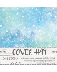 Papir za platnice - COVER 49 - laminiran - 60 x 24,2 cm - 170g