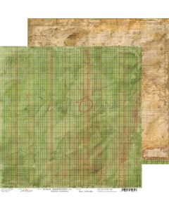 Dvostranski papir - SCHOOL ADVENTURES 04 - 30,5 x 30,5 cm - 250g