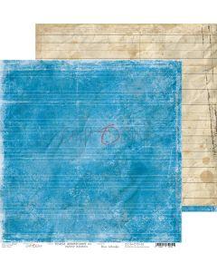 Dvostranski papir - SCHOOL ADVENTURES 05 - 30,5 x 30,5 cm - 250g