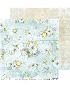 Dvostranski papir - SPRING MORNING DREAMS 05 - 30,5 x 30,5 cm - 250g